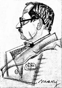 I.Brucar desen de M.H.Maxy in